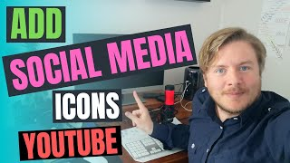 How To Add Social Media Icons To YouTube Channel Art 2020