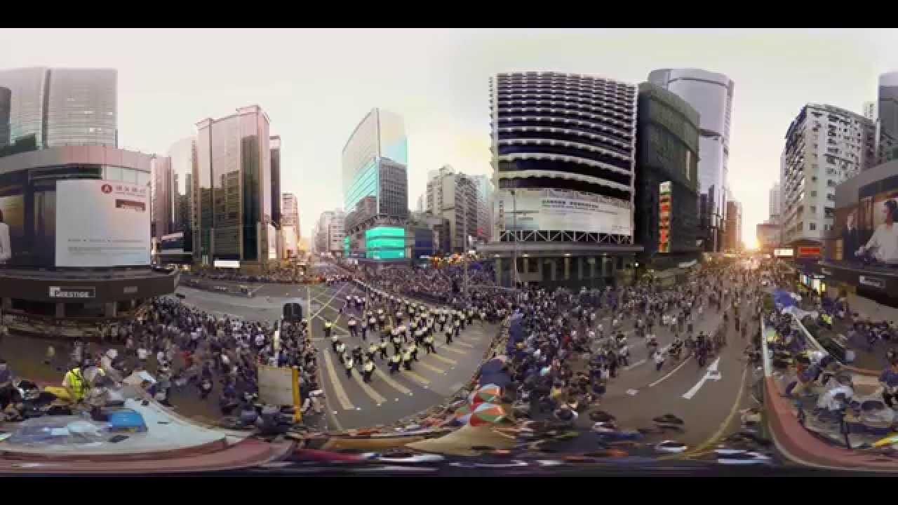 Hong Kong Unrest - a 360° Virtual Reality Documentary ...