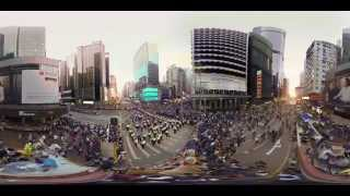 Hong Kong Unrest - a 360° Virtual Reality Documentary thumbnail