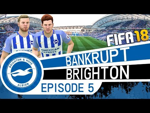 EA CAN'T COUNT TO TEN! - FIFA 18 Career Mode | Bankrupt Brighton (Episode 5) | Youth Academy