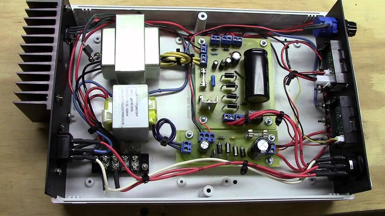 5 - Dc Power Supply Upgrade Part 5 - Final Build