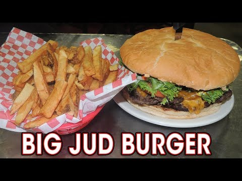 BIG JUD'S BURGER CHALLENGE IN BOISE, IDAHO!!