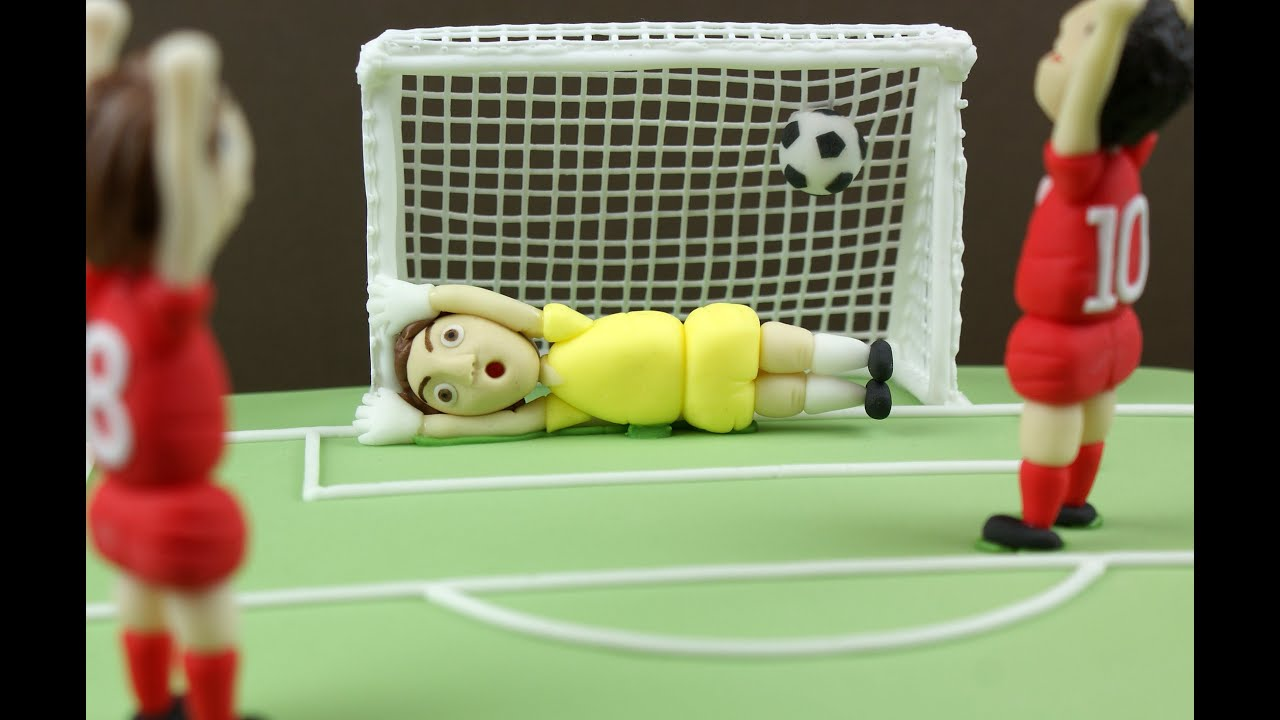 How To Make Goal Posts For A Cake