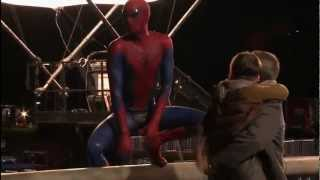 Видео со съёмок фильма The Amazing Spider Man. Часть 2.(, 2012-06-18T18:09:53.000Z)