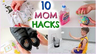 10 MOM HACKS  /  MUM HACKS  TO TRY  |  EMILY NORRIS