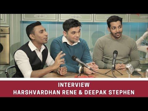 TV Intervew with Deepak Stephen and Harshvardhan Rane. Bollywood Film Festival Moscow