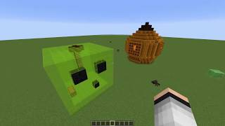SLİME EV VS BALKABAĞI EV - Minecraft