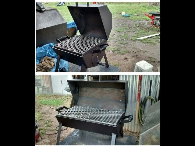 Dual table top bbq grills