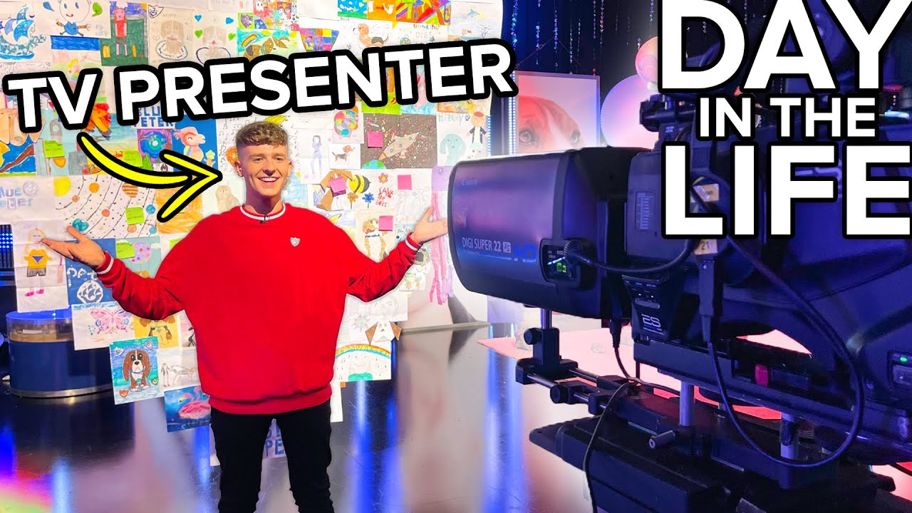 A Day in the Life of a TV Presenter *BEHIND THE SCENES*