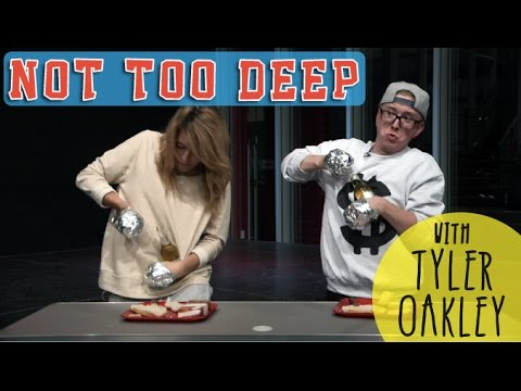 NOT TOO DEEP with TYLER OAKLEY // Grace Helbig