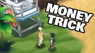 POKEMON SUN AND MOON MONEY TRICK / NEW GAMEPLAY