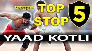 Top 5 Stop Yaad Kotli at Kabaddi Tournaments