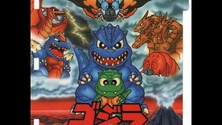 "[PICO] ゴジラ どきどき怪獣島!! | ""Godzilla Doki Doki Kaijuu-tou!!"" for Sega Pico"