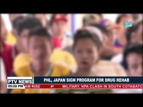 PHL, Japan sign program for drug rehab