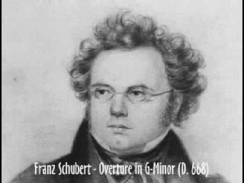 Franz Schubert - Overture in G-Minor (D. 668)