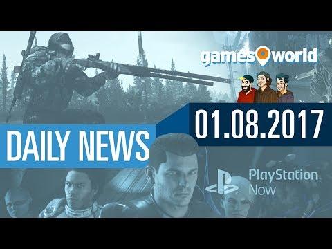 PS Now in Deutschland, Escape from Tarkov, Bioware Montreal | Gamesworld Daily News - 01.08.2017
