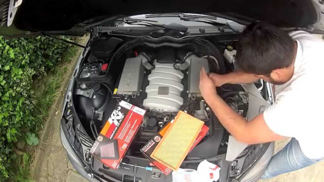Mercedes C63 Amg Quot How To Change Quot Stock Air Filter With New