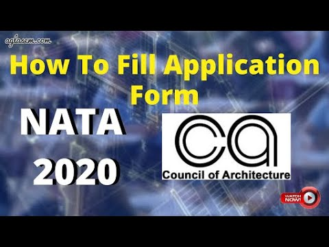 How to fill NATA 2020 Application Form Online - NATA Registration Step by Step Guide by AglaSem