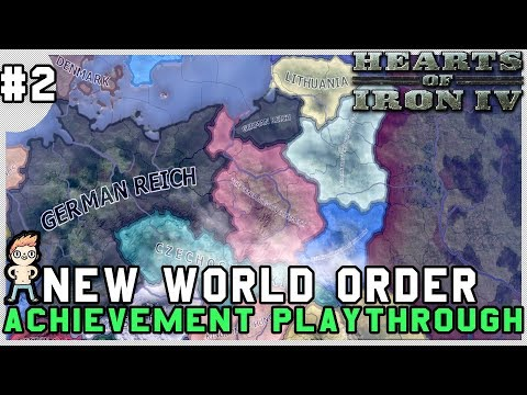 Hearts of Iron IV - New World Order Part 2 - Invasion Of France