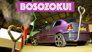 Making A Mad Bosozoku Exhaust For Project BMW Compact