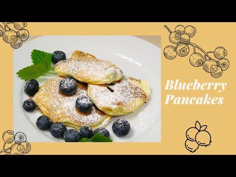 Blaubeer/Heidelbeer Pancakes (Blueberry Pancakes)