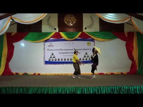U Shwe Yoe & Daw Moe Dance