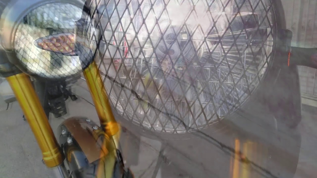 CAFE RACER Vento Rocketman SPORT modelo 2020 a primera vista