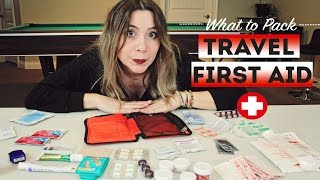 What Pack Travel First Aid Kit