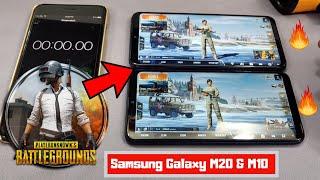 Samsung Galaxy M20 & Samsung Galaxy M10 Pubg Mobile Review | Samsung M20 & M10 Gaming Review