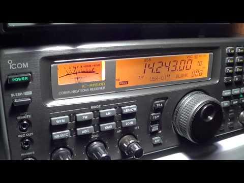 J8-PE1IGM amateur station in St Vincent on 20 meters