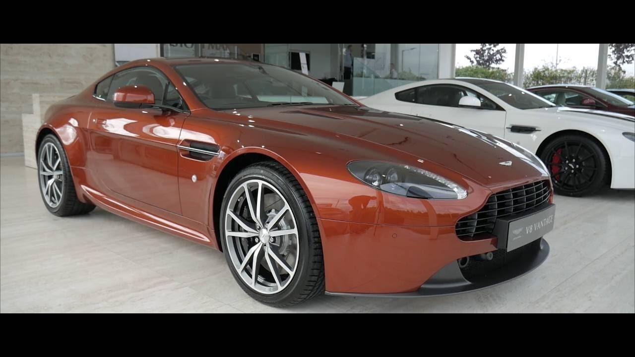 Aston Martin Vantage V8 In Cinnabar Orange Interior And Exterior Walkaround Youtube