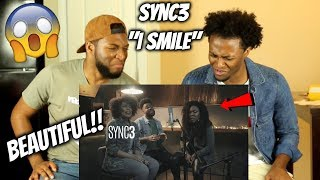 Brazilian Group Sync3 sings 'Smile' by Kirk Franklin (OH MY GOODNESS!!) CRAZY REACTION