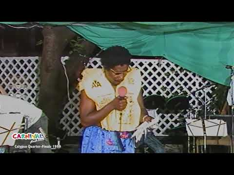 FLASHBACK: Calypso Monarch Quarter Finals 1989 (Antigua Carnival)
