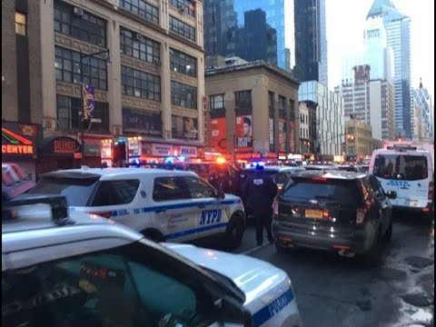 🚨 Explosion at NYC Port Authority - LIVE BREAKING NEWS COVERAGE