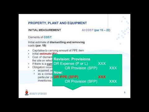 IAS 16 Video 8 Eng Dismantling And Removing Costs