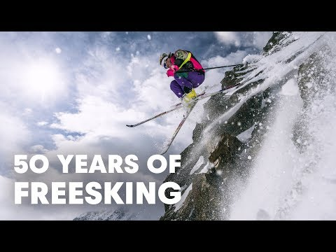 50 Years Of Freeskiing In 4 Minutes | Generations Of Freeskiing