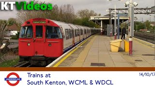 Trains at South Kenton, WCML + WDCL - 14/10/17