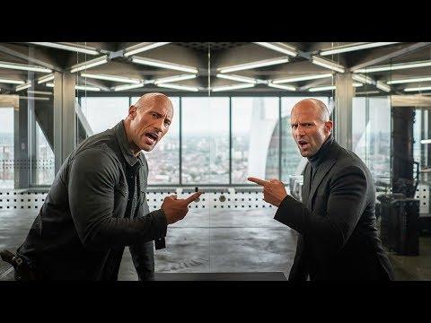 Качки спорят у кого больше \ Форсаж: Хоббс и Шоу Fast & Furious Presents: Hobbs & Shaw