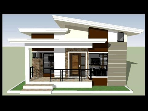 House Design 3bedroom Modern Bungalow With Floor Plan Youtube