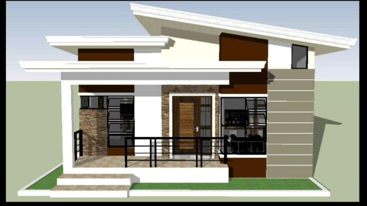 HOUSE DESIGN: 3BEDROOM MODERN BUNGALOW WITH FLOOR PLAN ...