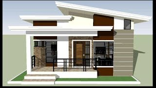 House Design: 3bedroom Modern Bungalow With Floor Plan
