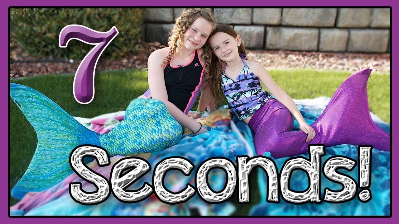 7 Second Challenge | FIN FUN Mermaids! - YouTube