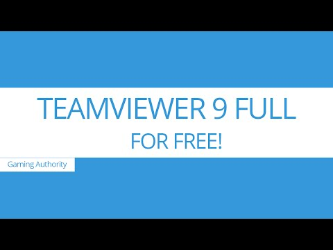 [UPDATED] Teamviewer 9 Full Version + license code FREE | [NEW LINKS!] [MEGA]