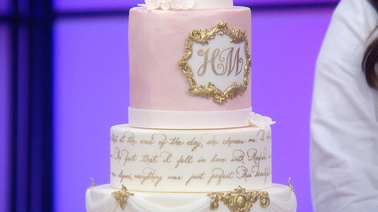 3 Stunning Wedding Cakes Inspired By Prince Harry Meghan