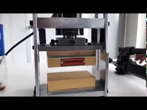 Dabpress 10-Ton Hydraulic Ram Rosin Press Kits - 3x5