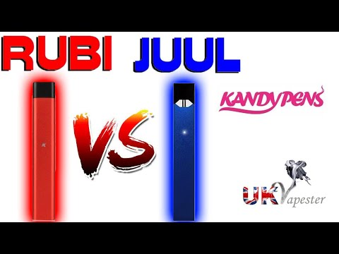 RUBI Vs JUUL | Kandy Pens Pod System – LIFE TIME WARRANTY!