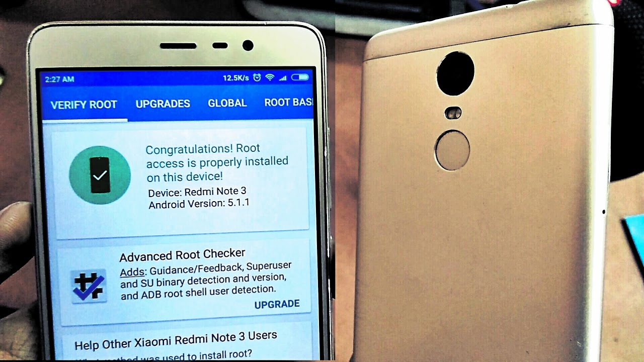 How to Root Redmi Note 3 MIUI 8/ 7 [EASIEST WAY]