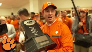 Dabo Swinney Locker Room Speech After Clinching Atlantic Division Title