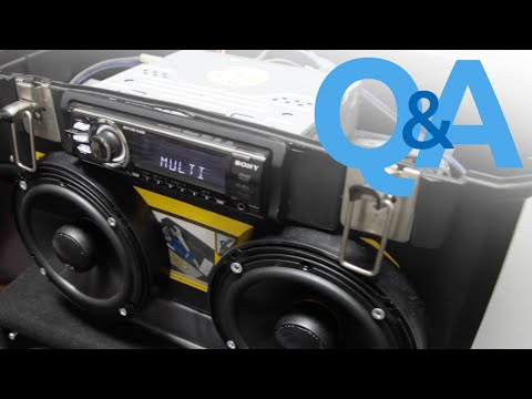 Car Audio Home Theater   How To Use Car Stereo System Anywhere   Car Audio Q&A