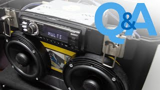 Car Audio Home Theater | How To Use Car Stereo System Anywhere | Car Audio Q&a